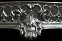 Elegant Rococo Fireplace Fender