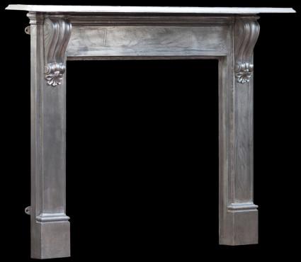 Corbeled Cast Iron Fireplace Restoration Specialists