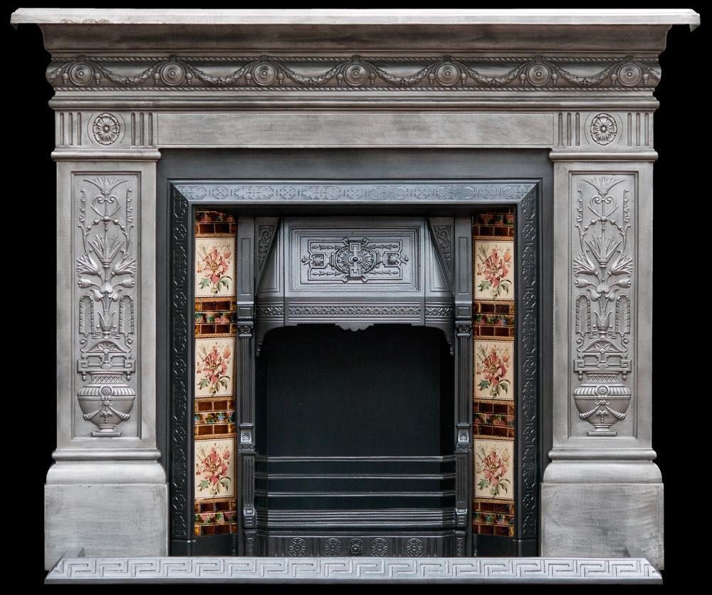 Decorative cast iron surround - Fireplaces