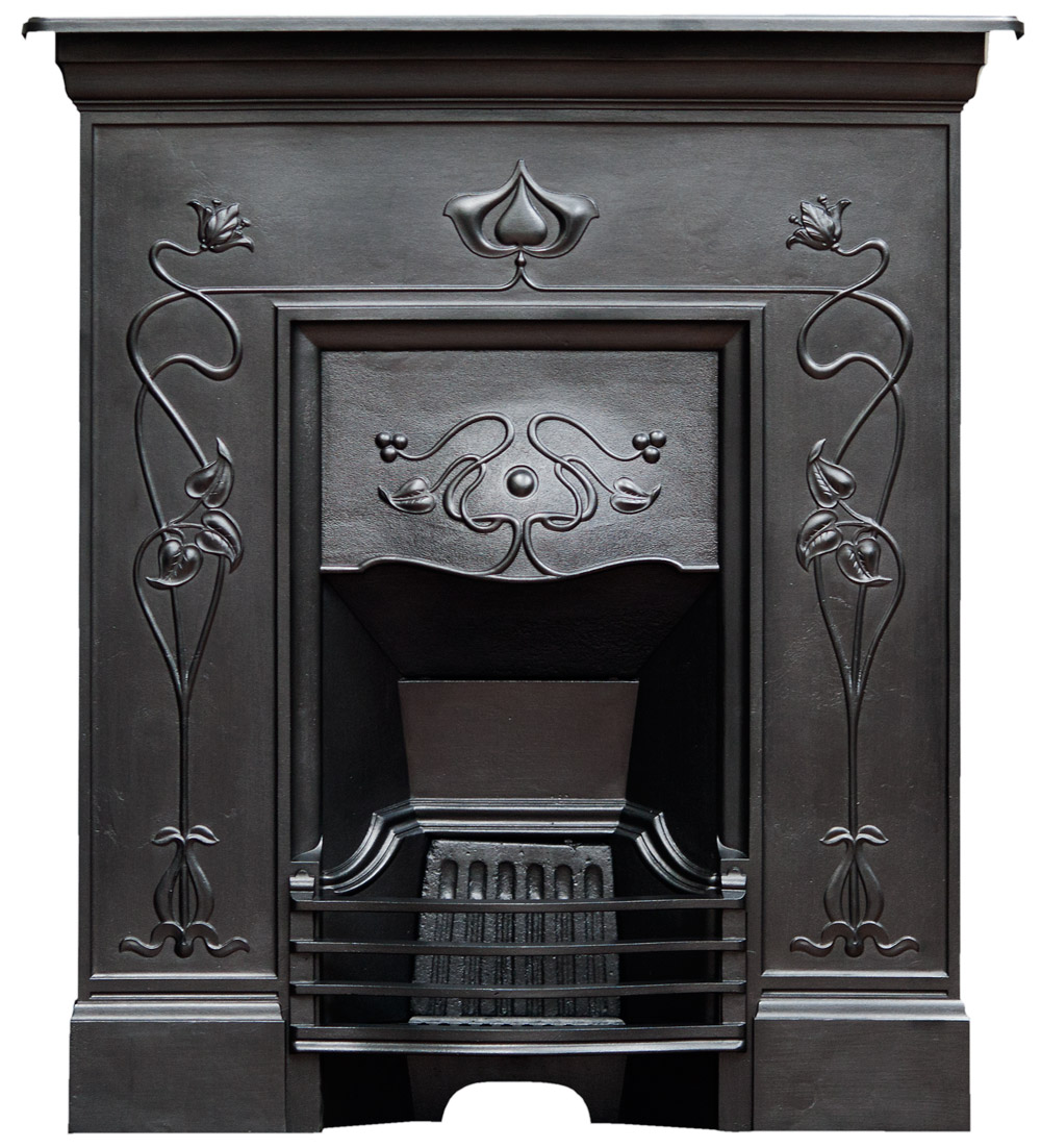 Cast Iron Fireplace Antique, Black Paint For Metal Fireplace Surround