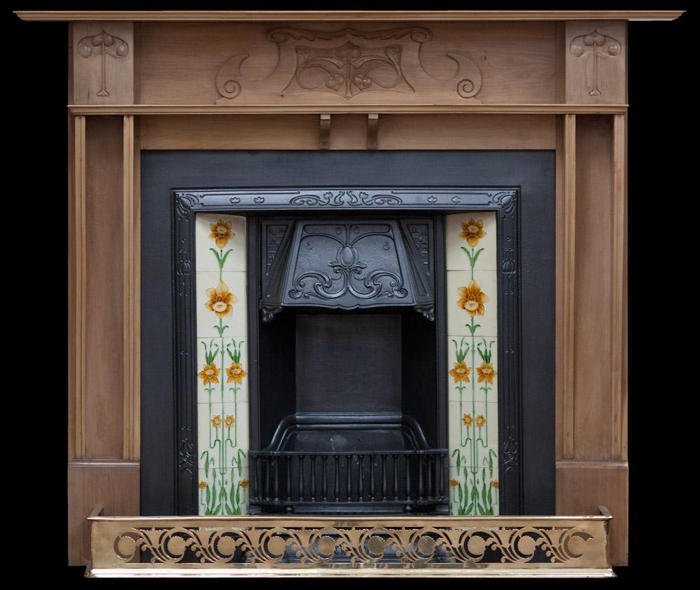 Pine Fireplace The Antique Fireplace Restoration Company