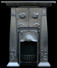 antique fireplace with stool rate